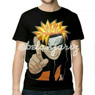 Kaos Distro Anime Naruto Number 1