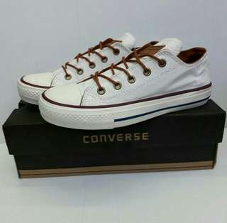 CONVERSE W&B WITH BROWN ROPE ORIGINAL