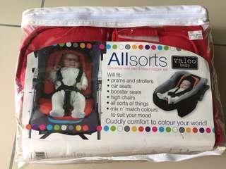 Valco Baby universal seat pad & head hugger set