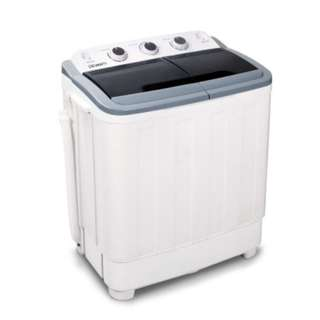 5KG Mini Portable Washing Machine Spin Dry  Rinse White