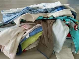 Bundle Of Baby Boy Clothes (0-6mo)