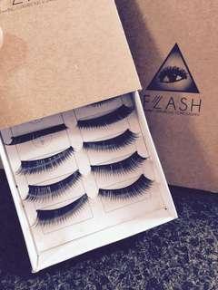 BNIB Faux Eyelashes (Ultra Luscious)