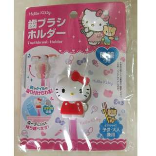 Hello kitty toothbrush holder from Japan