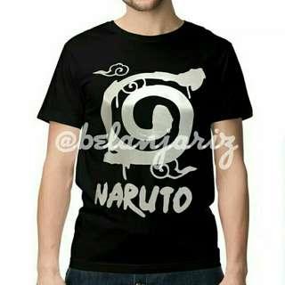 Kaos Distro Anime Naruto Logo