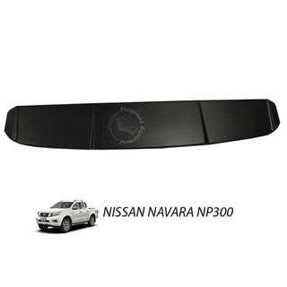 NISSAN NAVARA NP300 ABS TOP SPOILER (BLACK)