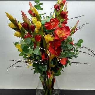 Flowers Faux Arrangement AAA0189