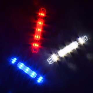 🚚 Escooter EBike Bicycle RapidX Safety Light Police Light Blinker 3 colors