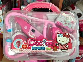 Hello kitty doctor set