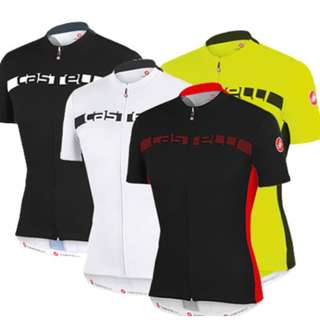 Brand New Castelli cycling Jerseys!!