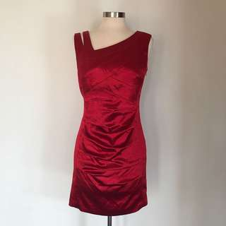 JAX Mini Red Dress