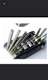 In stock! Brand new Allen key/15 in 1 outain bicycle tools sets bike bicycle multi tools