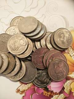 Sg old $1 coins 45pc x$6