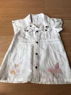 Girls cotton top