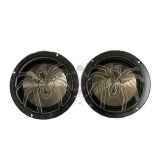 "CAR AUDIO SPEAKER GRILL 6.5"" COVERS PAIR (SPIDER)"