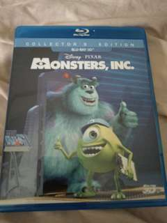 PROMO: Monsters, Inc. - Blu-ray 3d Collector's Edition