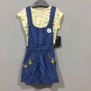 New butterflies overall set 2-3 years