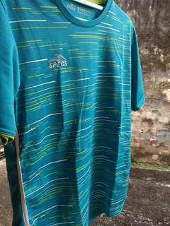 Kaos Shirt Olahraga Gym Specs No Adidas Nike