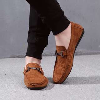 🏘URBAN🏘 Agere Symmetry Crossbar Slip On Loafers Driver Shoes