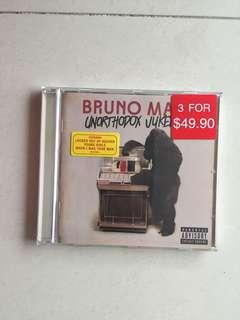 "Bruno Mars CD ""Unorthodox Jukebox"""