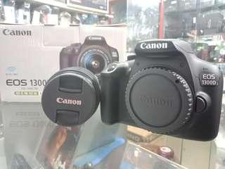 Kredit Canon EOS 1300D, dp min 10%