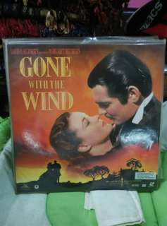 Gone With the Wind Laser Disc LD