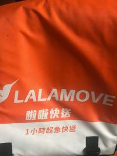 Lalamove 外送保溫袋
