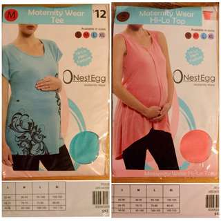 Hi-Low Maternity Tops - Sizes S/M
