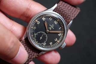 Omega WWW military watch