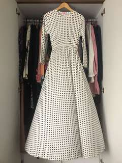 Long Vintage Dress Jubah