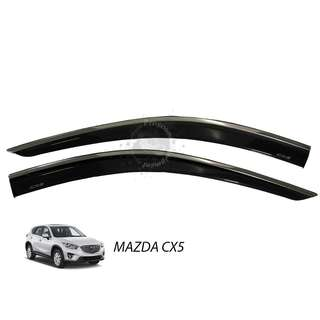 MAZDA CX5 (MDS-132) 2017 STAINLESS STELL CAR DOOR VISOR (INJECTION) No Ratings