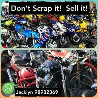 Buy in used Bike