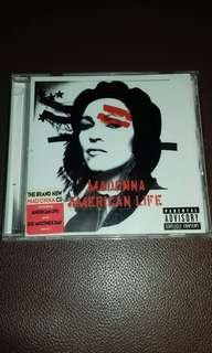 Madonna American Life Original USA pressing CD like new