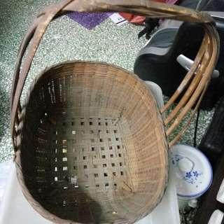 舊 竹 籃  清屋大平賣