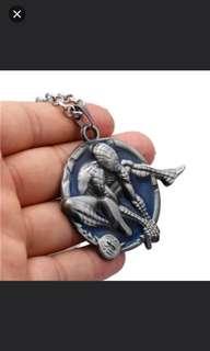 珠寶首飾系列 (男合金頸鏈蜘蛛俠) (天良系列) (包Buyup自取) (spiderman necklace)
