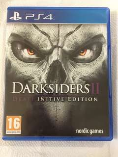 Ps4 game- darksiders 2 deathinitive edition