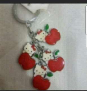In Stock Hello Kitty With Apple Design Key Chain