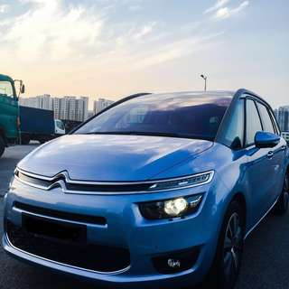 Citroen Grand Picasso 7-seater Long term lease