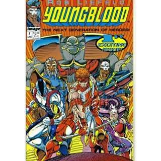 Youngblood #1 (1st series and 1st team appearance)