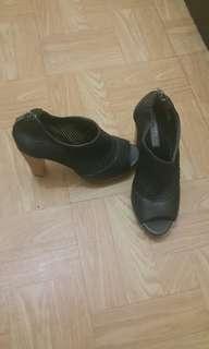 REPRICED!! Take all 3 Pairs Heels and Slip On - Clogs