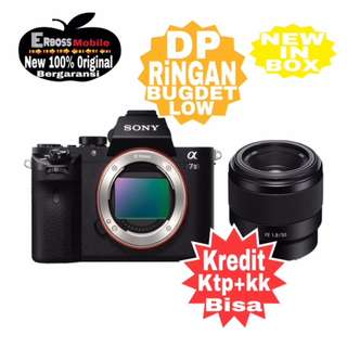 SONY Alpha A7 KIT FE 50MM Resmi Cash/kredit ditoko ktp+kk Call/wa;081905288895