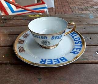Vintage Kolster Beer cup & saucer