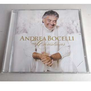 ANDREA BOCELLI-CD+DVD-MY CHRISTMAS-featuring NATALIE COLE、CATHERINE JERKINS、