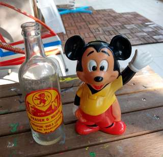 Vintage Mickey coin bank
