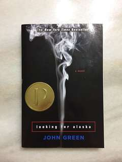 Book 'looking for alaska' by John Green