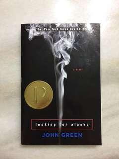 Book 'looking for alaska' by John Green