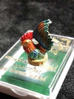 Kruba Krissana Wealth Fetching Chicken (Thai Amulet)