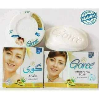 AUTHENTIC Goree Set (Cream and Soap)