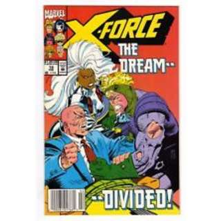 X-Force #19 :The dream...divided (1st appearance of Copy Cat Vanessa Carlysle)