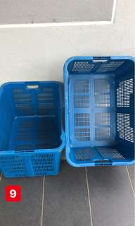 industrial storage plastic container