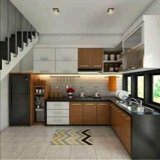 Cicilan Kitchen Set Cukup Bayar Admin 199.000